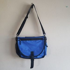 Other - Blue Computer Messenger Bag GUC